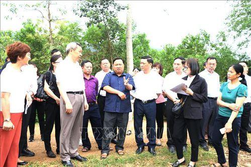 Đẩy mạnh hợp tác toàn diện giữa Hà Giang và Châu Văn Sơn (Trung Quốc)