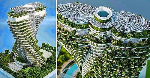 13 tòa nhà chọc trời ngoạn mục khiến bạn không tin vào mắt mình