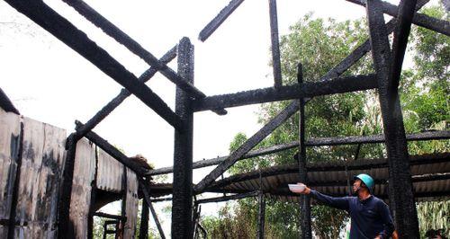 Ngôi chùa 55 tuổi ở Phú Yên bị lửa thiêu rụi
