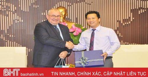 Hợp tác giữa Hà Tĩnh với Vương quốc Bỉ đạt nhiều kết quả quan trọng