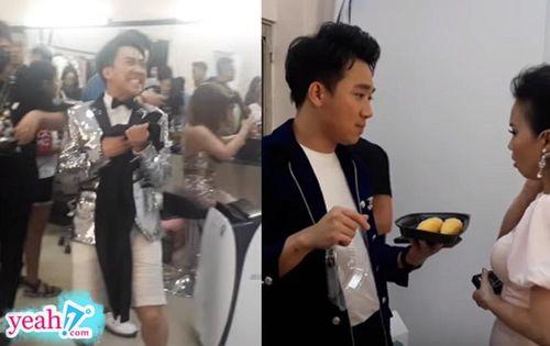Tiết lộ một ngày chạy show của Trấn Thành: Quên quần trong hậu trường, đem đồ ăn dụ dỗ cả đoàn