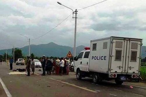 Giám đốc Công an Bình Định chỉ đạo xử nghiêm vụ xe biển xanh tông chết 2 mẹ con
