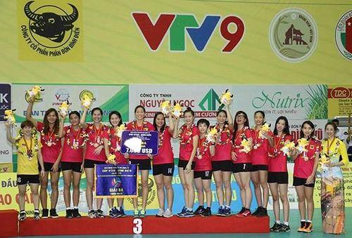 Khởi tranh Giải cúp bóng chuyền nữ quốc tế VTV9 Bình Điền 2019