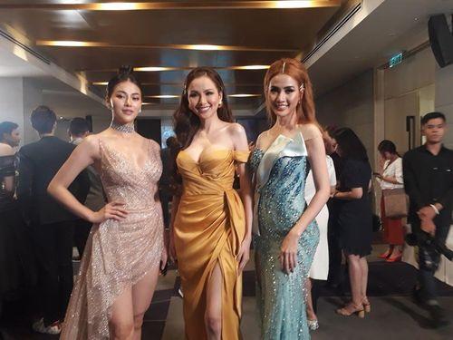 Lê Âu Ngân Anh vắng mặt trong buổi công bố Hoa hậu Đại dương