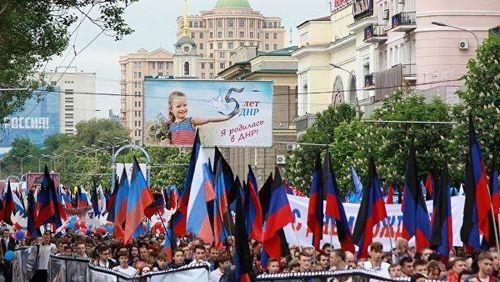 Hai nước cộng hòa vùng Donbass kỷ niệm 5 năm thành lập