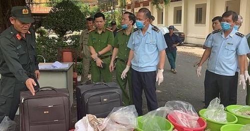 Cục Hải quan TP. Hồ Chí Minh bắt giữ vụ vận chuyển trái phép 500kg ma túy Ketamine