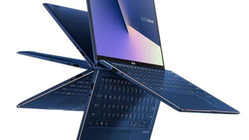 Laptop gập xoay ZenBook Flip 13 UX362 nhỏ gọn nhất thế giới
