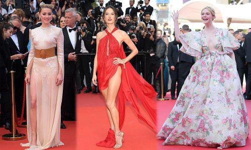 Cannes ngày 2: Loạt mỹ nhân khoe sắc với váy xuyên thấu, cắt xẻ táo bạo