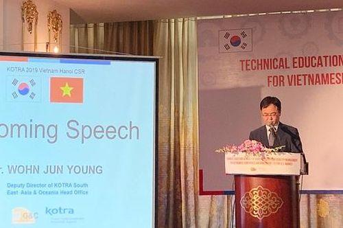 KOTRA hỗ trợ doanh nghiệp Việt Nam tiến tới thị trường Hoa Kỳ