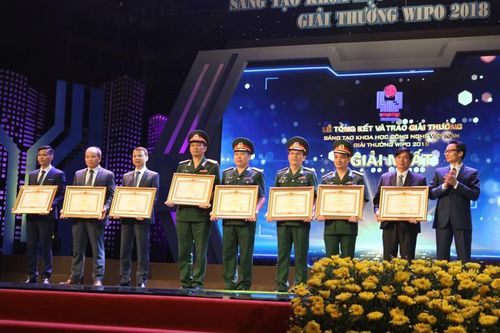 Nhiều công trình nghiên cứu công nghệ xây dựng đạt giải thưởng VIFOTEC năm 2018