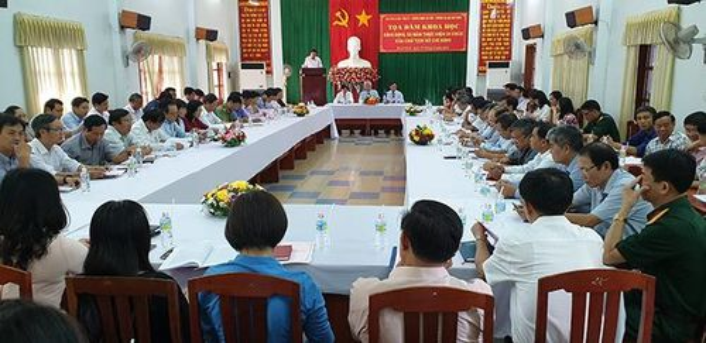 Tọa đàm khoa học 'Bình Định, 50 năm thực hiện Di chúc của Chủ tịch Hồ Chí Minh'