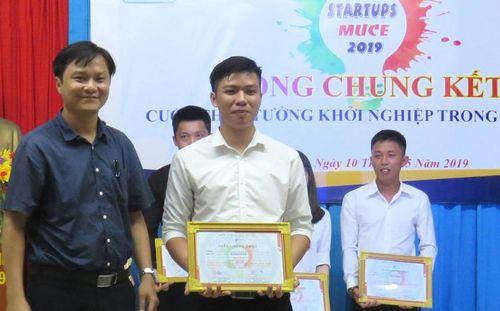 Đại học Xây dựng Miền Trung: Lan tỏa tinh thần khởi nghiệp trong sinh viên