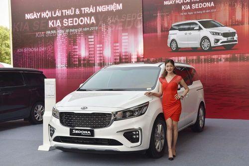 Ngày hội trải nghiệm xe 7 chỗ cỡ lớn cao cấp Kia Sedona tại Hà Nội