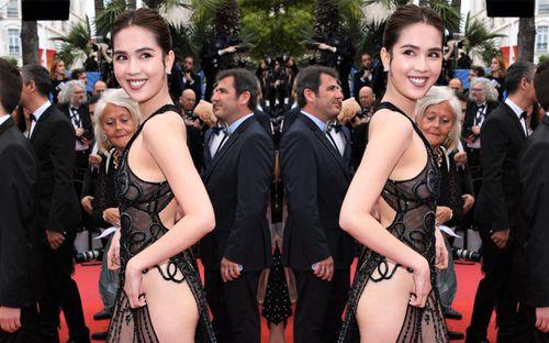 Ngọc Trinh và loạt sao cố tình mặc khoe thân để gây chú ý tại Cannes