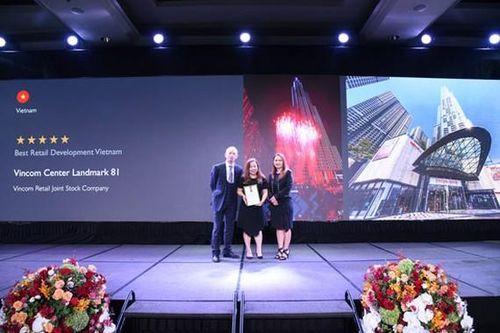 Vincom Center Landmark 81 được vinh danh TTTM tốt nhất Việt Nam