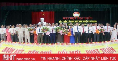 Tiếp tục nhân rộng mô hình, điển hình trong công tác mặt trận ở Vũ Quang