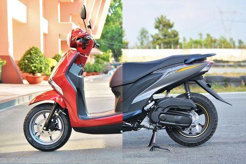 So sánh Yamaha Latte và FreeGo - đánh đổi an toàn lấy tiện lợi