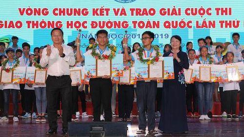 Chung kết xếp hạng toàn quốc cuộc thi 'Giao thông học đường' lần IV