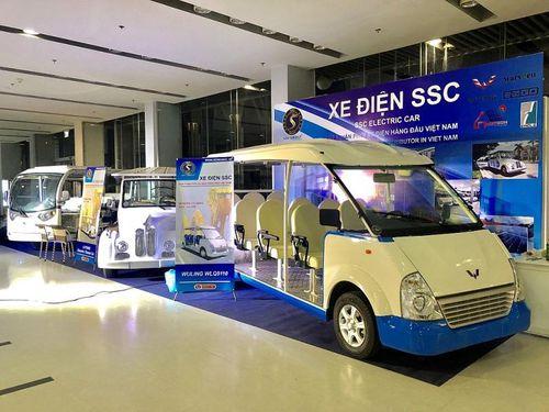 Xe điện SSC, các sản phẩm công nghệ thân thiện môi trường