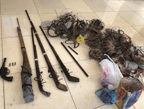 Điện Biên: Bắt giữ đối tượng mua bán heroin, thu giữ nhiều vũ khí nóng