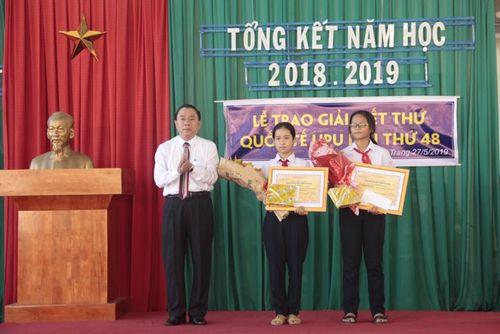 Cuộc thi Viết thư Quốc tế UPU lần thứ 48: 2 học sinh Khánh Hòa đạt giải Khuyến khích