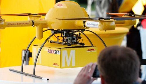 Thiết bị bay không người lái của DHL ra mắt dịch vụ giao hàng hoàn toàn tự động đầu tiên tại Trung Quốc
