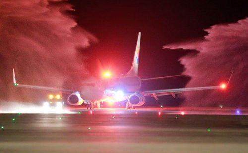 Sân bay Vân Đồn đón chuyến bay quốc tế đầu tiên từ Trung Quốc