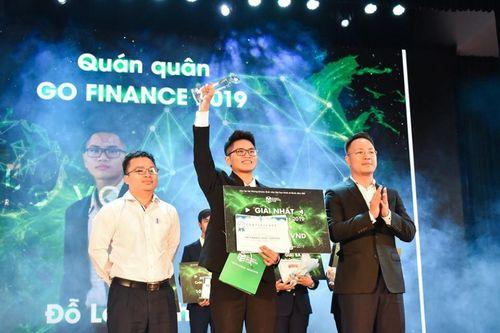 Quán quân cuộc thi Go Finance 2019: Đam mê đặc biệt với tài chính, chứng khoán