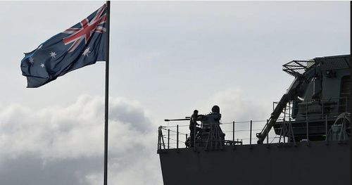 Phi công Úc bị chiếu laser trên biển Ðông?