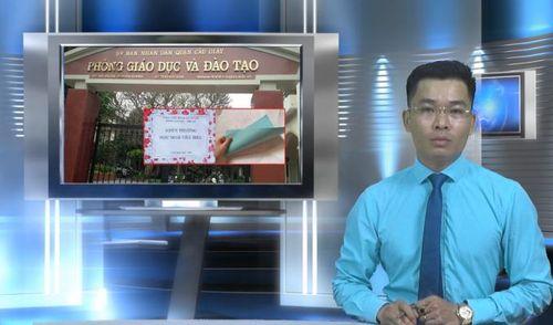 Bản tin Pháp luật: Phòng giáo dục quận Cầu Giấy tặng hộp quà rỗng cho học sinh giỏi, hành vi phản giáo dục