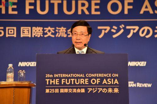 Hoạt động của PTT Phạm Bình Minh tại Hội nghị Tương lai Châu Á