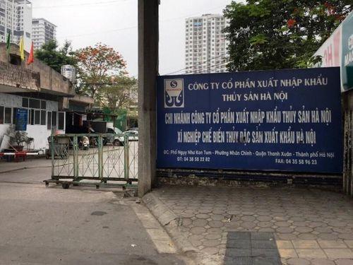 Cty CP XNK Thủy sản Hà Nội: Cho thuê đất xây dựng trái phép tràn lan!