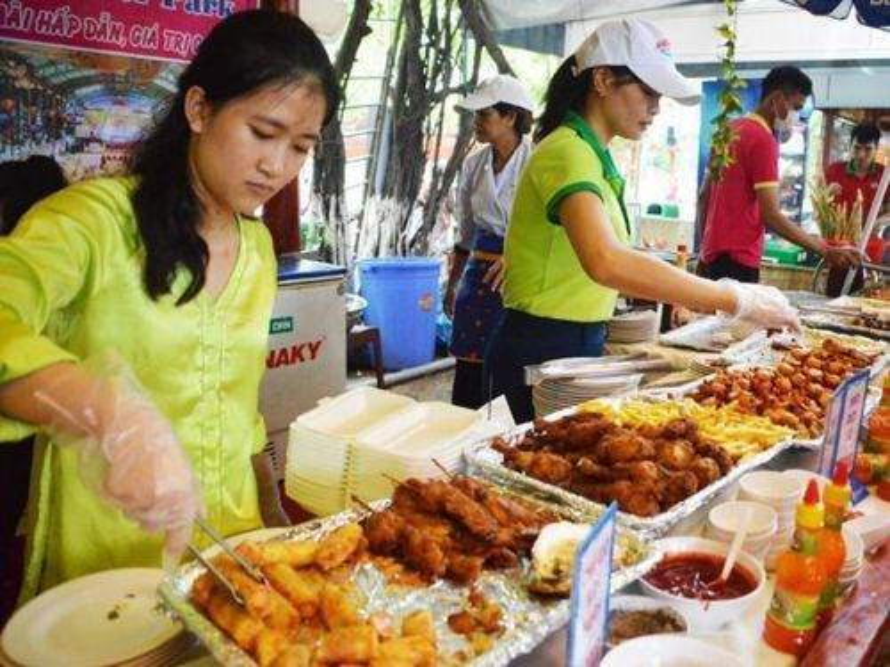 Gần 500 món ăn tại Liên hoan Ẩm thực Đất Phương Nam 2019