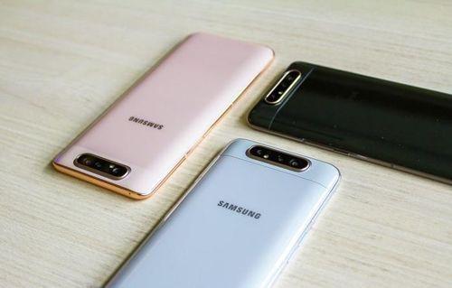 Smartphone camera xoay Galaxy A80 về VN đầu tháng 7, giá 15 triệu
