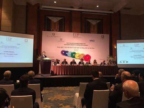Doanh nghiệp Italia sẵn sàng đầu tư công nghệ cao vào Việt Nam