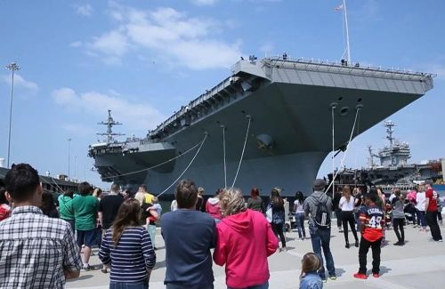 Tàu sân bay mới nhất của Mỹ thử nghiệm thành công hệ thống phòng thủ tối tân