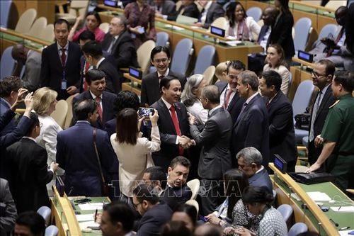 Việt Nam với HĐBA LHQ: Báo chí quốc tế ấn tượng với số phiếu của Việt Nam