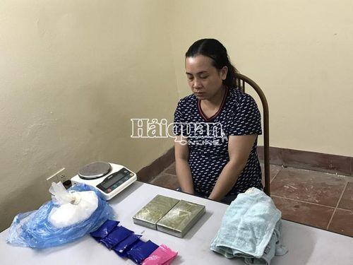 Sơn La: Bắt nữ quái vận chuyển một lượng lớn ma túy