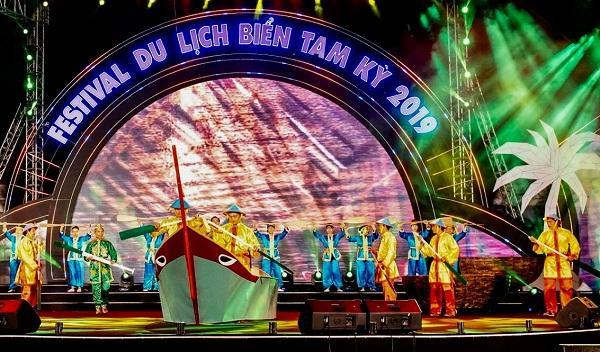 Quảng Nam: Khai mạc 'Festival du lịch biển Tam Kỳ-Đến và khám phá'