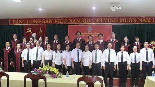 Trao Quyết định bổ nhiệm Thẩm phán trung cấp, Thẩm phán sơ cấp TAND TP Đà Nẵng