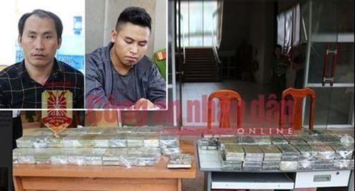Truy tố đối tượng trong đường dây mua bán vận chuyển 198 bánh heroin