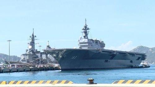 Chiến hạm Nhật Bản, Canada, Pháp thăm Việt Nam