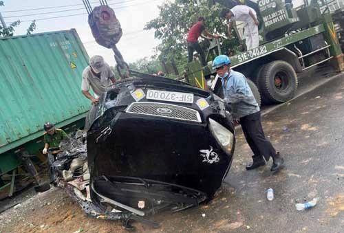 Xe container tông chết 5 người: Tài xế khai ngủ gật khi lái xe