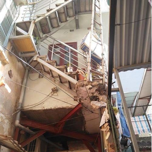 Tại phường Lê Đại Hành, quận Hai Bà Trưng: Bất an từ công trình xây dựng không phép