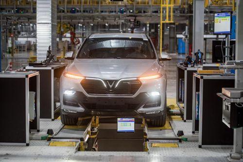Có gì bên trong nhà máy ô tô VinFast vừa khánh thành?