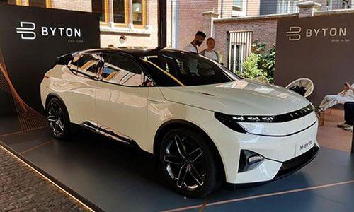 Xe ôtô điện Byton M-Byte - Trung Quốc với màn hình 48 inch
