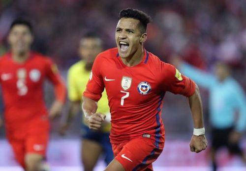 Sanchez ghi bàn quyết định đưa Chile qua vòng bảng Copa America