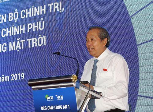 Phó Thủ tướng: Cần đẩy mạnh phát triển điện mặt trời