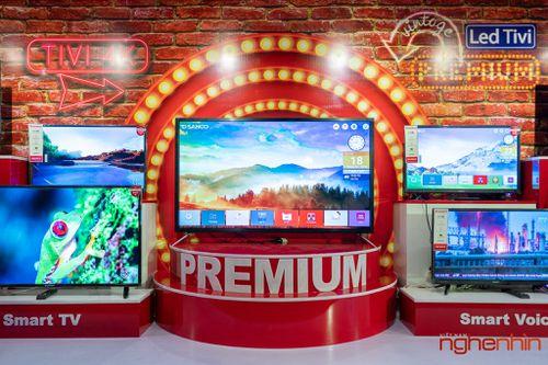 PSD ra mắt thương hiệu TV Sanco giá chỉ từ 3,2 triệu đồng