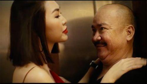 Phim 200K: Tường Linh run khi chủ động 'bị' sàm sỡ trong thang máy